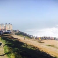 Check out the famous surfers Nazare