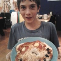 Pizza Face by Nuno
